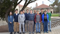 LevLab group photo Stanford 2017